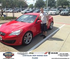 #HappyBirthday to Corey Crenshaw from Zach Stanley at Huffines Chrysler Jeep Dodge RAM Plano!