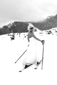 Park City, UT- Ski Wedding! Andrea Page Photography