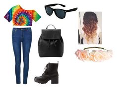 Hippie Wippie by briski02 on Polyvore featuring Ally Fashion, Charlotte Russe, MANGO and H&M