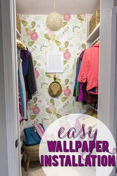 I had no idea it was this easy to install wallpaper!!