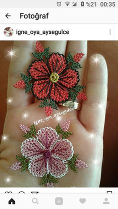This post was discovered by neşeli kasnak nakışçı anne. Discover (and save!) your own Posts on Unirazi. Rose Embroidery, Modern Embroidery, Embroidery Patterns, Stitch Patterns, Knitting Patterns, Needle Lace, Lace Making, Lace Knitting, Ornaments