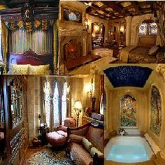 Cinderella castle suite in Walt Disney World I want to start my honeymoon off with a night here before I vacation overseas :-)
