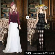 Repost @princessmarie20112011   This challenge is supposed to be a victorian era style but I dont think ANY victorian lady would of ever been seen in the outfit on the right hmmmmm  #covetfail #covetfails #fasionfail #covet #covetgame #covetvote #fashion #covetfashion #covet #covetfashionapp #covetapp