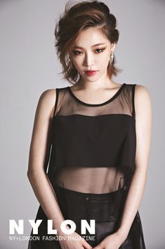 Brown Eyed Girls Ga In - Nylon Magazine August Issue