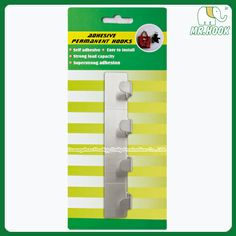 Metal Hanging Hooks 4in1 Adhesive HT44  #adhesivehook #metalhook  http://www.gzprodigy.com/product-category/hook/adhesivehook/