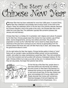 Lunar New Year (or Chinese New Year), has been celebrated for more than years. This social studies unit covers the history of the holiday and its symbols with plenty of engaging activities: mask and red envelope crafts, a poem, a mini-play, and more! Chinese New Year Crafts For Kids, Chinese New Year Dragon, Chinese New Year Activities, Chinese New Year Design, Chinese New Year Poster, Chinese New Year Party, Chinese New Year Decorations, New Years Activities, Chinese New Years