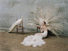Gen W | Jennifer Lawrence | Tim Walker #photography | #Stylist Jacob K | W Magazine October 2012