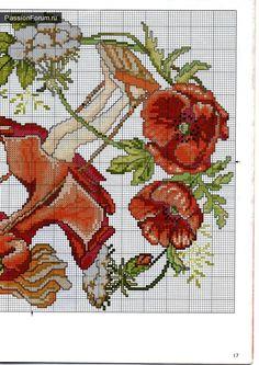 Календарь / Вышивка / Схемы вышивки крестом