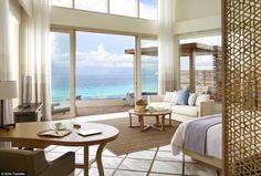 Viceroy Maldives resort modern bedroom