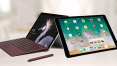 The new iPad Pro has a powerful processor and new multitasking functionality, but can it match the Microsoft Surface Pro for productivity?