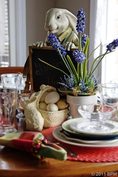 Spring Garden Table