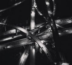 Contrasting Black and White Outlook of Cities – Fubiz Media