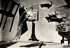 Dali by Philippe Halsman. If you want to know why Halsman is my hero, just remember: no photoshop