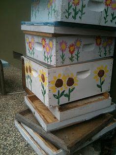 Cute beehives!  Good article!