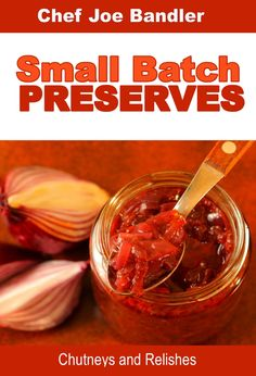 Making your own preserves is a wonderfully satisfying hobby. In this book I explore the world of Small Batch Chutneys and Relishes.