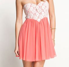 Nice Pink Lace Bra Chest Wrapped Dress