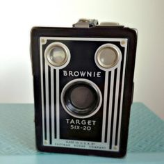 Vintage Display Camera Kodak Brownie Target by MidwestMilkGlass, $30.00