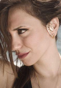 Kefalonia - sterling silver earrings