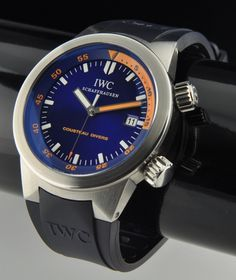 IWC Aquatimer Cousteau Divers Watch