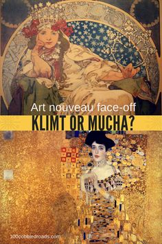 Which of the art nouveau masters wins? Klimt or Mucha?