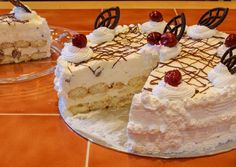 Fudge, Tiramisu, Cake Recipes, Food And Drink, Pie, Sweets, Cheese, Cookies, Ethnic Recipes