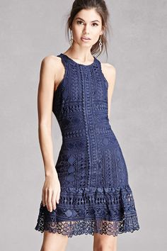Soieblu Crochet Lace Dress