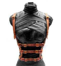 Hellbent Firefly Leather Harness : Delicious Boutique