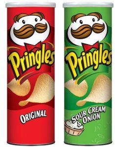 Still Available: BOGO Pringles & DiGiorno Pizza printable coupons! Candy Recipes, Snack Recipes, Pringle Flavors, Pringles Original, Road Trip Snacks, Sour Cream And Onion, Potato Chips, Junk Food, Favorite Recipes