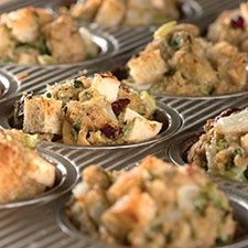 Stuffing Cups An easy way to bake, serve, and enjoy stuffing.