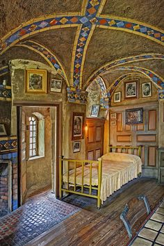 The Yellow Room At Fonthill Castle Photograph