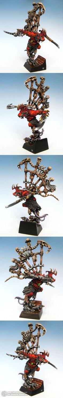 Skaven Warlord Queek Headtaker - Flameon