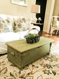 One Man's Junk To Unique Coffee Table!