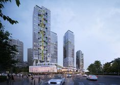 Multifunctional Administrative City 1-5 Residential complex – NORTHPOINT