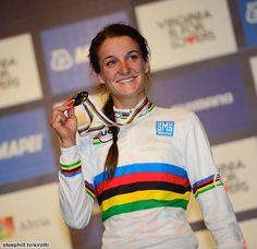 Your new Elite Women's RR World Champion, Lizzie Armitstead Richmond 2015