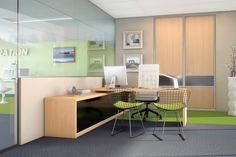Inouï Agencement Bureau Amnagement Bureau Professionnel Archea Bureau Design, Office Desk, Corner Desk, Table, Furniture, Home Decor, Info, Workplace, Commercial