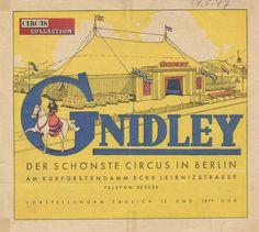 Circus collection: Cirque Gnidley 1947