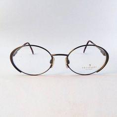 #TRUSSARDI  #occhiali #ovali  montatura #anni90  #vintage