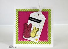 Kelly's Papercrafting: Easter Bunny Peeps