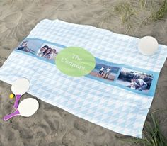 Personalized Photo Blanket for $20.00!