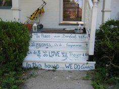 Lots of inspiration in Yellow Springs Ohio.