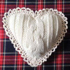Mini Heart Cushion by BalletDanceRomance on Etsy $15AUD