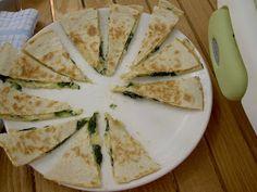 BLW recipes: Quesadillas