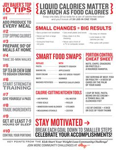 Be a happier and healthier you with our awesome tips from coach Joy Bauer!