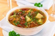Фото к рецепту: Суп с фасолью