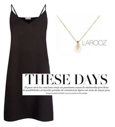 """""""Larooz jewelry"""" by eugenia-karvounidou on Polyvore featuring Sandro, women's clothing, women, female, woman, misses and juniors"""