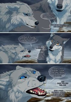 Off-White Page 25 by akreon Wolf Images, Wolf Pictures, Anime Wolf, Animal Sketches, Animal Drawings, Off White Comic, Wolf With Blue Eyes, Wolf Comics, Wolf Artwork