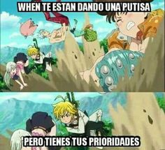 Read Nanatsu no taizai + 2 from the story Memes by saz_wppm with reads. Anime Meme, Manga Anime, Otaku Anime, Anime Seven Deadly Sins, 7 Deadly Sins, Memes Humor, Funny Memes, Top Memes, Cool Animes