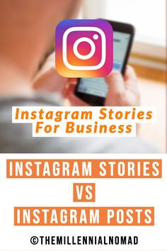 Have you ever wondered what are the benefits of Instagram stories versus Instagram posts? This article breaks down exactly what you need to know to better leverage these two Instagram platforms for your brand. #instagramtips #instagrammarketing #socialmediatips
