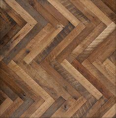 Antique oak wood floor tile / solid HERRING BONE LV Wood Floors