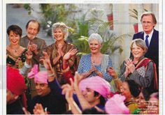 The Second Best Exotic Marigold Hotel:  Hope it is as good as the first.  I enjoyed the dynamics of the actors.